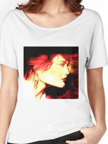 The Red Head: Graphic  Women's Relaxed Fit T-Shirt