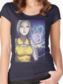 Maya Women's Fitted Scoop T-Shirt