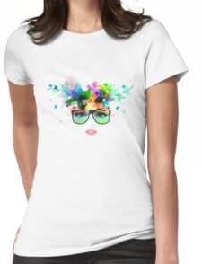 Sunglasses Woman Womens Fitted T-Shirt