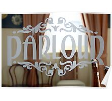 Parlour, Mac's Hotel, Mount Gambier, South Australia Poster