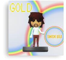 Tanuchi Gold Amiibo Canvas Print
