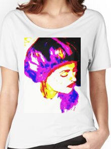 Lady in White: Graphic Women's Relaxed Fit T-Shirt