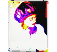 Lady in White: Graphic iPad Case/Skin