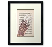 The Stuff of Nightmares Framed Print