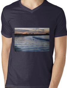 Shimmering Shore - Griffiths Island Mens V-Neck T-Shirt