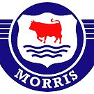 The Mighty Morris Cars Logo by JustBritish