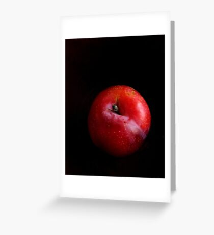 Red Plum #1 Greeting Card