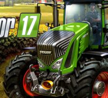 Farming simulator 2017 pre shots Sticker