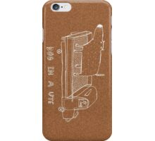dog in a ute iPhone Case/Skin