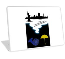 How I met Your Mother Tribute ( Mayday Parade quote) Laptop Skin