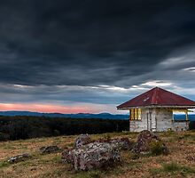 The Hut - Gold Coast Hinterland Qld Australia by Beth  Wode