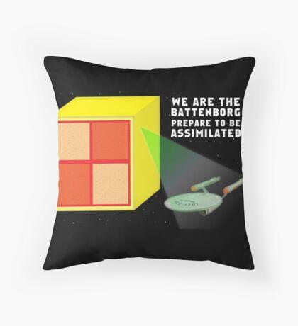 Marzipan Attacks Throw Pillow