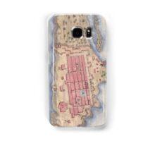 Vintage Map of San Juan Puerto Rico (1770) Samsung Galaxy Case/Skin