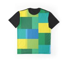coloured squares Graphic T-Shirt