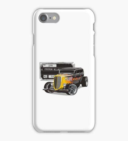 Retro Hot Rod iPhone Case/Skin