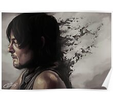 Some things you let go in order to live - Daryl Dixon Poster
