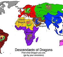 Descendants of Dragons Map by Mars714