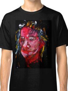 Portrait on Black Classic T-Shirt