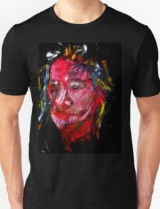 Portrait on Black Unisex T-Shirt