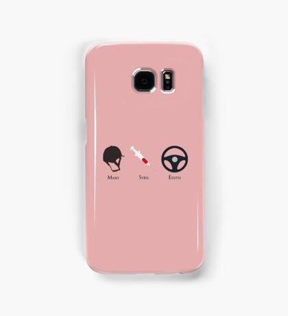 Downton Ladies minimal Samsung Galaxy Case/Skin