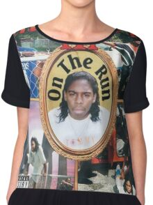 Tommy Wright On The Run Chiffon Top