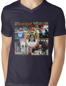 Tommy Wright On The Run Mens V-Neck T-Shirt