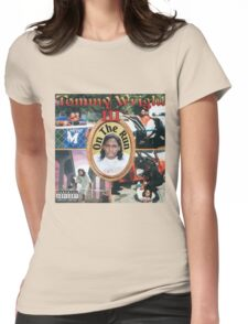 Tommy Wright On The Run Womens Fitted T-Shirt
