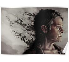 Some things you let go in order to live - Carol Peletier Poster