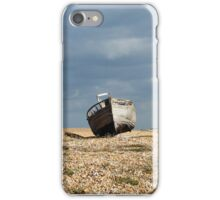 Abandoned Boat at Dungeness Beach iPhone Case/Skin