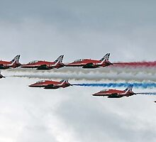 Red Arrows 50 Display Seasons by © Steve H Clark