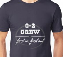 0 and 2 Crew Unisex T-Shirt