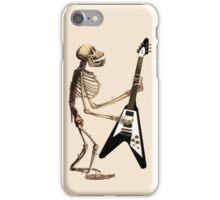 Ape Skeleton with Flying V iPhone Case/Skin