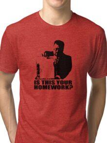 The Big Lebowski Walter Sobchak Homework T shirt Tri-blend T-Shirt
