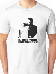 The Big Lebowski Walter Sobchak Homework T shirt Unisex T-Shirt
