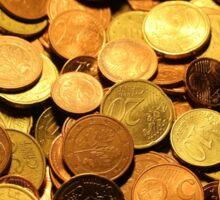 Coins Sticker