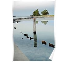 Clear Water - The Causeway - Griffiths Island Poster