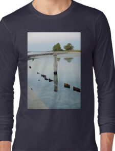 Clear Water - The Causeway - Griffiths Island Long Sleeve T-Shirt