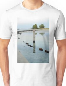 Clear Water - The Causeway - Griffiths Island Unisex T-Shirt
