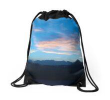 The Organ Mountains Las Cruces, New Mexico Drawstring Bag