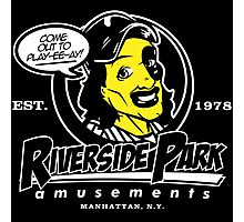 Riverside Park Amusements Photographic Print