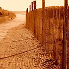 Seaside in Sepia - Calendar Image     ^ by ctheworld