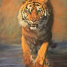 Tiger (Beach Vacation) by Lyn Green