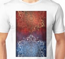 Mandala - Fire & Ice Unisex T-Shirt