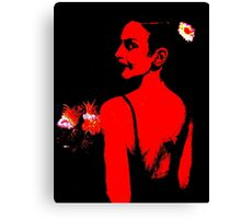 The Bridesmaid: Red Canvas Print