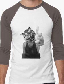 Tiger man Men's Baseball ¾ T-Shirt