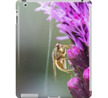 Insect on a Purple Flower iPad Case/Skin