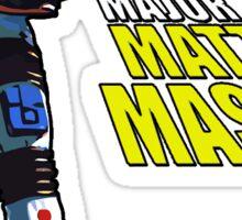 Major Matt Mason Sticker