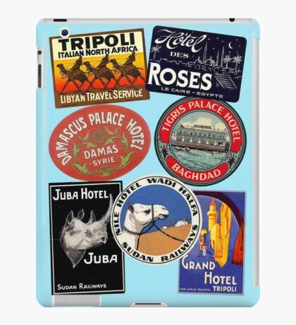 Intrepid Traveller - Hot Spots 2 iPad Case/Skin