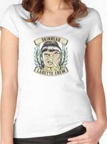 Skinhead Ladette Crew Women's Fitted Scoop T-Shirt