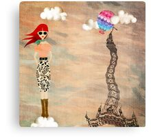 Redheads have more fun Canvas Print